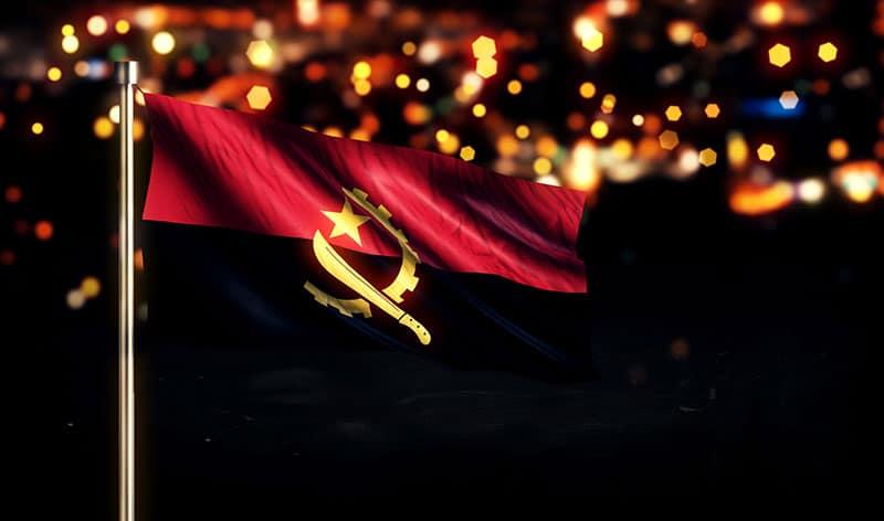 angola flag city