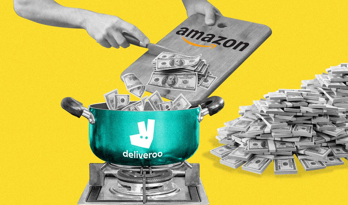 Amazon's Investment in Deliveroo Provisionally Cleared